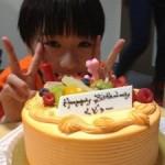 Daaishi Ishida's birthday cake is…