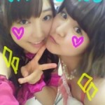 Cleavage picture on Fuku-chan's blog!!!