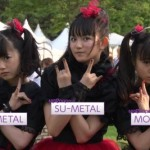 BABYMETAL sang some Hello! Project songs live today!