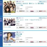 Morning Musume's new song hits Oricon Daily no. 1 with 96,075 units sold!!
