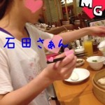 Oda and Ishida go out to eat together — Ishida looks super bored!