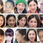 Yanagawa Nanami looks completely different in each picture of hers