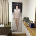 The life-sized Makino Maria tapestry is stupidly huge