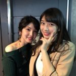 Makino Maria takes picture with an amazingly beautiful woman!!!